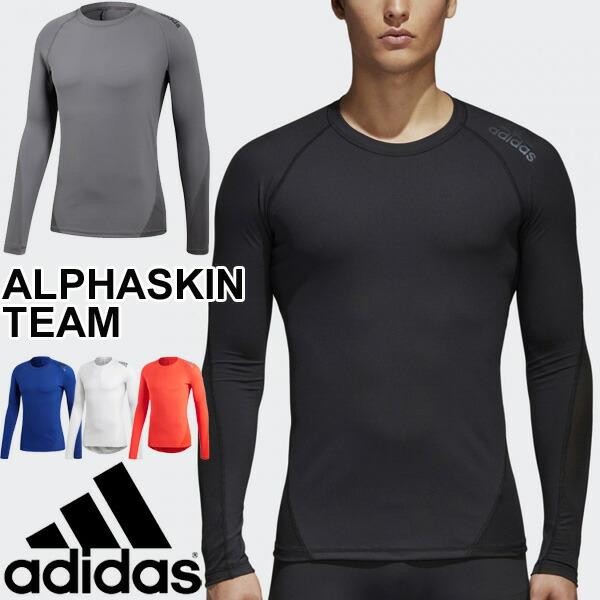 Shirt Alpha Compression Inner Suit Man Adidas Sportswear Training Ebr74 Skin Team Running Alphaskin Long Sleeves Gym Soccer Men b76YgmvIfy