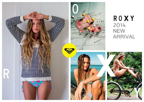 ROXY/ロキシーの2014年モデルが登場!