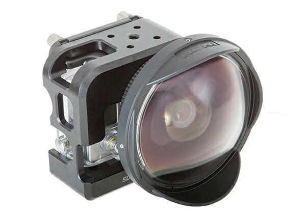 「SDマウントケージHERO3/3+」と水中セミフィッシュアイコンバージョンレンズ「UFL-G140 SD」