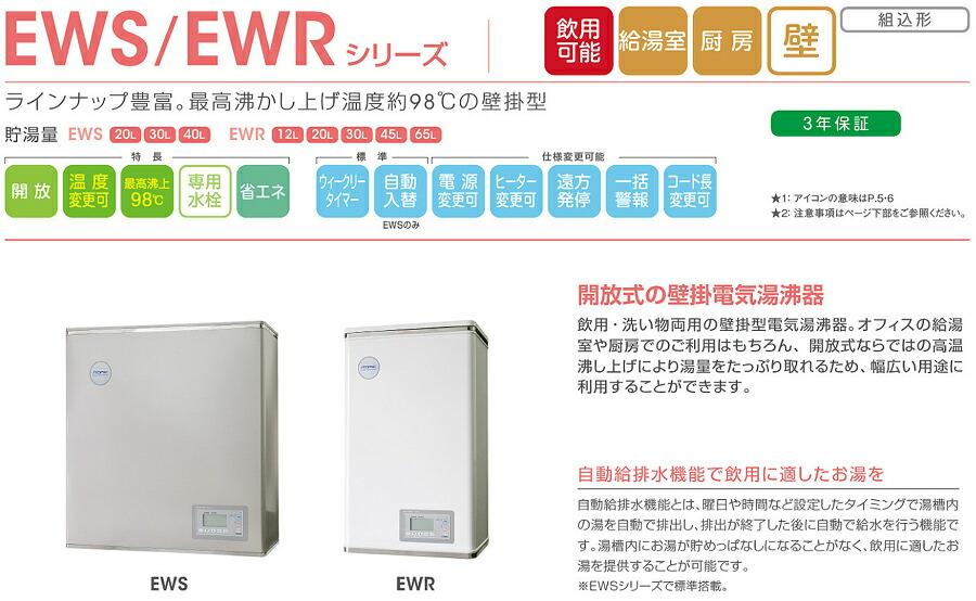 イトミック EWSシリーズ 壁掛型 薄型タイプ