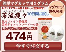 茶流痩々マグカップ用2g×10個