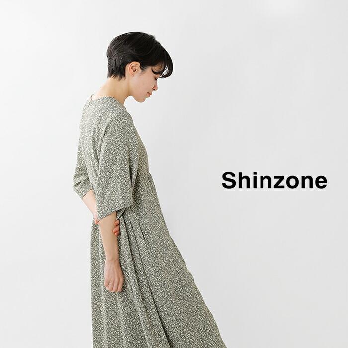 Shinzone(シンゾーン)切替ギャザーアラベスクオールインワン21smspa01