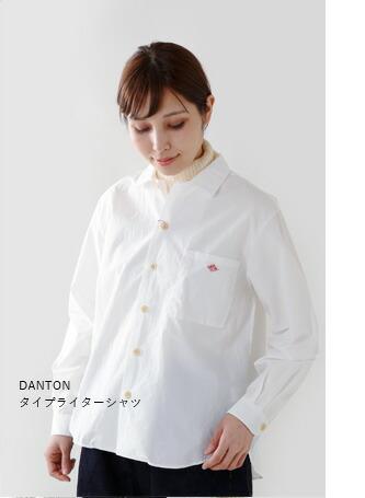 DANTON(ダントン)<br>タイプライターシャツ jd-3680tyo