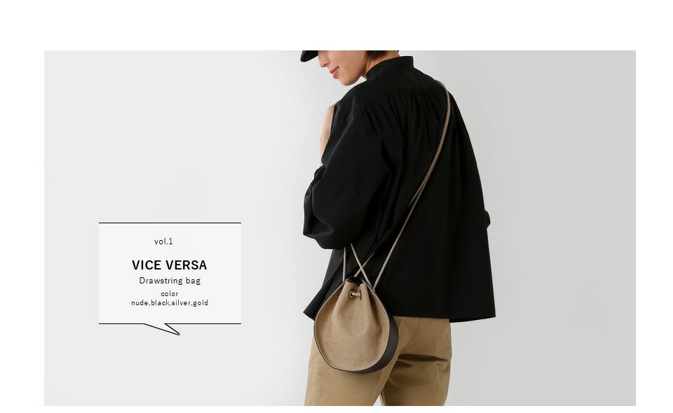 VICE VERSA(バイスベルサ)<br>ドローストリングバッグ 99257