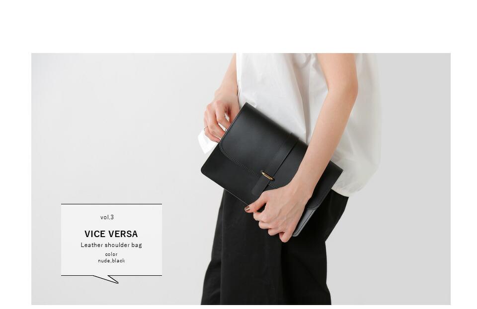 VICE VERSA(バイスベルサ)<br>レザーショルダーバッグ 99184