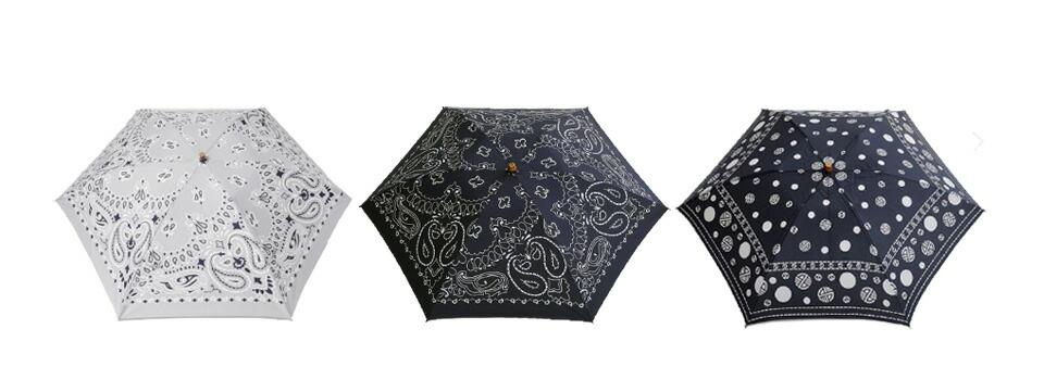 manipuri(マニプリ)<br>UV加工晴雨兼用折りたたみ傘 a-2-k-2