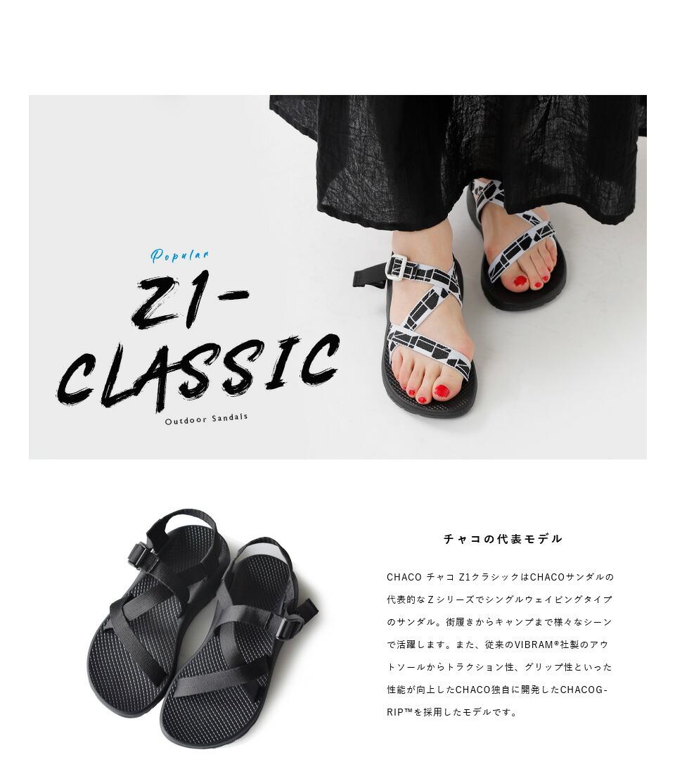 "Chaco(チャコ)<br>アウトドアサンダル""Z/1 CLASSIC"" z1-classic"