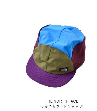 THE NORTH FACE(ノースフェイス)<br>マルチカラードキャップ nn01976