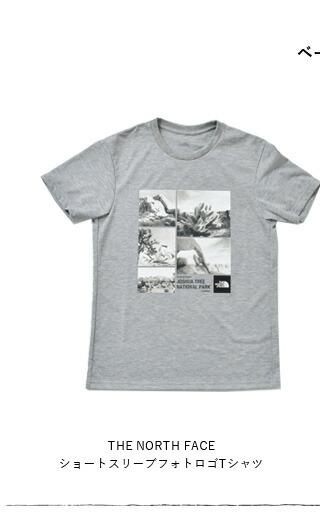 THE NORTH FACE(ノースフェイス)<br>ショートスリーブフォトロゴTシャツ nt31933