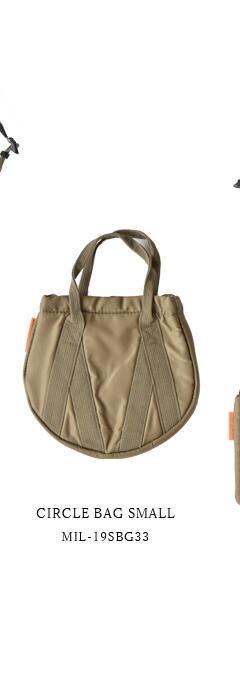 kha:ki(カーキ)<br>サークルバックCIRCLE BAG SMALLmil-19sbg33