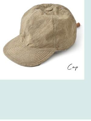 Chapeaugraphy(シャポーグラフィー)<br>綿麻ウェザーキャップ 117