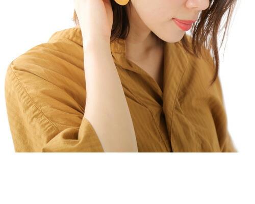 "MERAKI(メラキ)<br>真鍮ピアス""Miya Earring Brass"""
