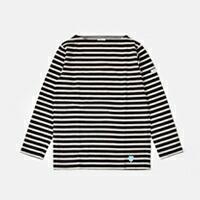 ORCIVAL(オーチバル・オーシバル)<br>コットン100%長袖バスクシャツ b211