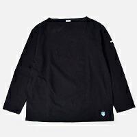 ORCIVAL(オーチバル・オーシバル)<br>コットン100%長袖バスクビッグシャツ b211clw