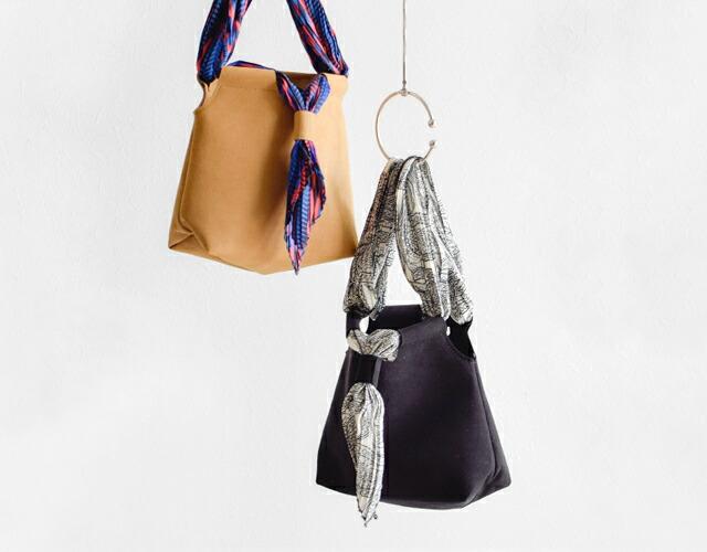 Liberty Bell(リバティベル) スカーフ2wayスエードバッグ lb-18ss-sc01