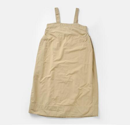 D.M.G<br>50/2ポプリンコットンワークジャンパースカート