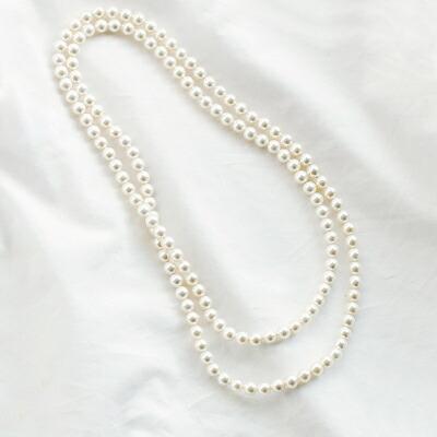 """パールネックレス""""Attachment necklace"""""""
