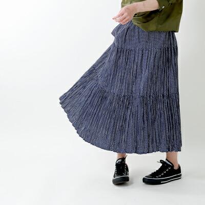 Rockmount(ロックマウント) しわ加工ロングスカート sp9999
