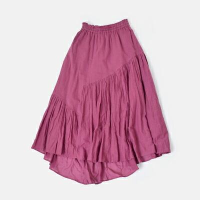 neQuittezpas(ヌキテパ) コットンボイルパネルロングスカート