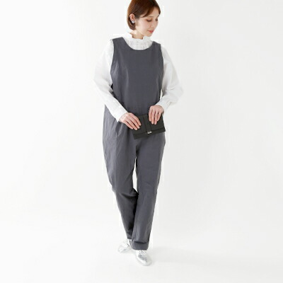 "Si-Si-Si(スースースー) コットン100%オールインワン""COVERALLS"" 17-aw030dp"