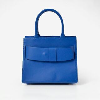 Maison Vincent(メゾン ヴァンサン) ベルトモチーフ レザーハンドバッグ fl01