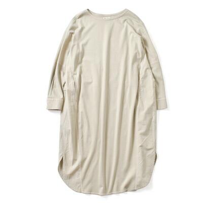 FACTORY(ファクトリー) ペルーコットンドッキングシャツワンピース b-19-18000