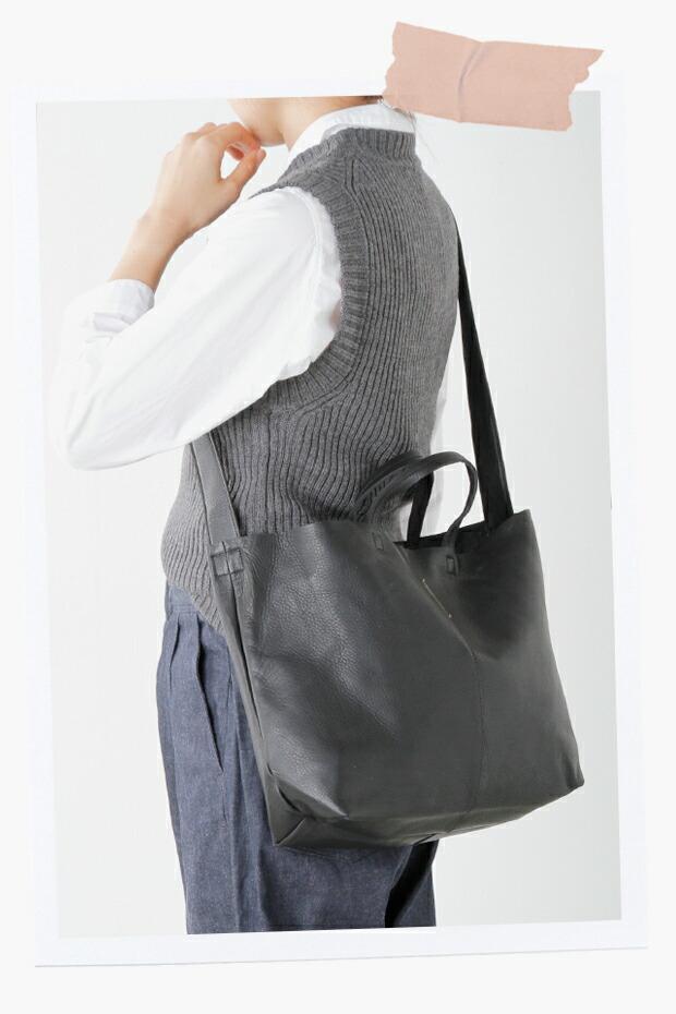yucchino(ユッキーノ) OTONA eco-bag レザーショルダーバッグS otona-eco-bag-shs