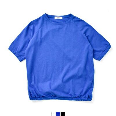 NARU(ナル) aranciato別注 コットン天竺パフスリーブ半袖プルオーバーTシャツ 629033
