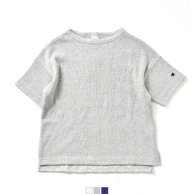 Champion(チャンピオン) コットンポリエステルガーメントウォッシュ加工半袖Tシャツ cw-m303