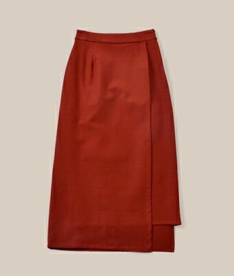 "graphpaper(グラフペーパー) コットンナイロンストレッチスカート""Cotton Nylon Stretch Skirt"" gl183-40011"