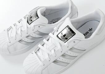 "adidas Originals(アディダス オリジナルス) メタリックランニングスニーカー""SUPERSTAR"" superstar-12000"