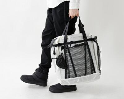 "and wander(アンドワンダー) コーデュラナイロン防水トートバック25L""25L tote bag"" aw-aa730"