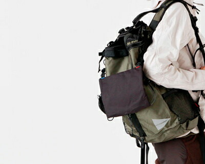 """and wander(アンドワンダー) コーデュラナイロン防水バックパック30L""""30L backpack"""" aw-aa912"""