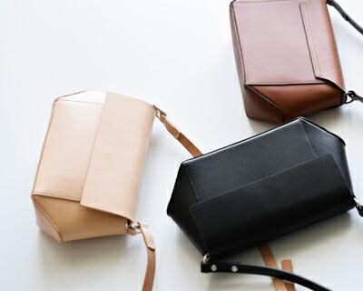 """LORENA(ロレナ) カウレザーフラップミニショルダーバッグ""""Miramini Crossover Bag"""" 53194-2-00604"""
