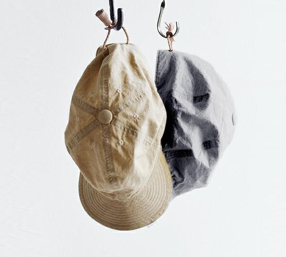 Chapeaugraphy(シャポーグラフィー)<br>aranciato別注 綿麻ウェザーキャップ 117