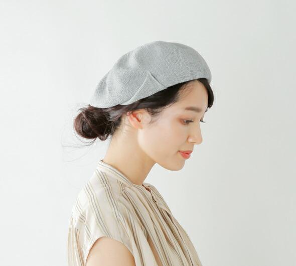 """chisaki(チサキ)<br>リネンベレー帽""""Nic"""" nic"""