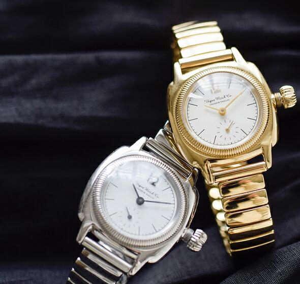 "Vague Watch Co.(ヴァーグウォッチカンパニー)<br>エクステンションベルトステンレスウォッチ""COUSSIN 12 Extension"" co-s-012-l-012"