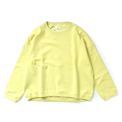 unfil(アンフィル)<br>ペーパー&コットンテリースウェットシャツプルオーバー wosp-uw119