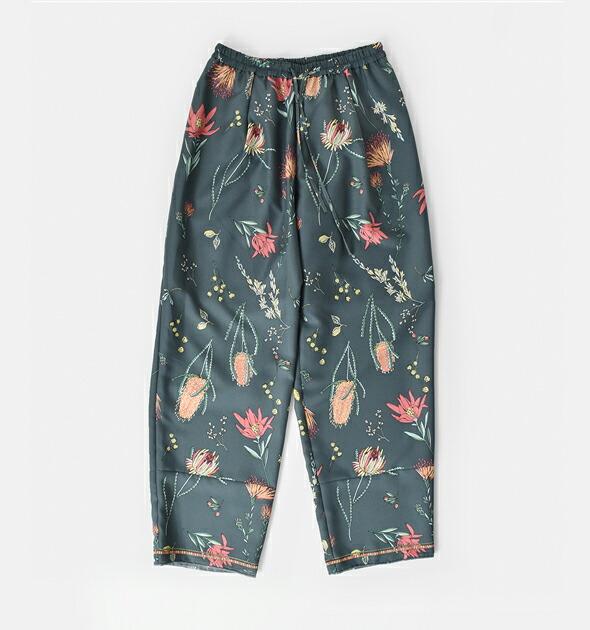 manipuri(マニプリ)<br>フラワープリントロングパンツ pants-manipuri