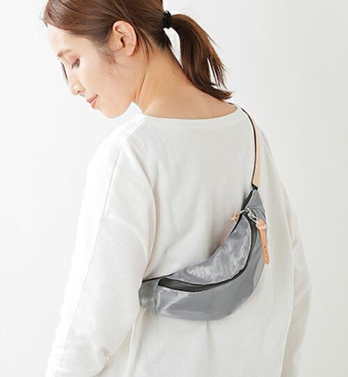 NNEI(ネイ)<br>ナイロンメッシュウェストポーチDrip Waist Bag nn01-07