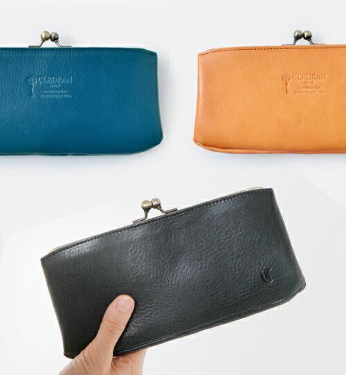 """CLEDRAN(クレドラン)<br>カウレザーパースロングウォレット""""NOM"""" purse-long-wallet"""