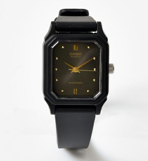 CASIO(カシオ)<br>アナログスクエアフェイス レディース腕時計 lq-142e