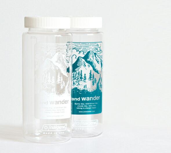 and wander(アンドワンダー)<br>ナルゲンボトル 574-0977005
