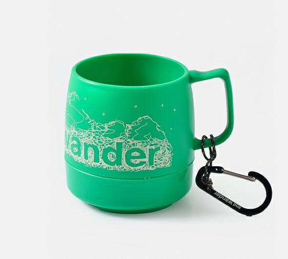 "and wander(アンドワンダー)<br>カラビナ付断熱カップ""and wander DINEX"" 574-0977004"