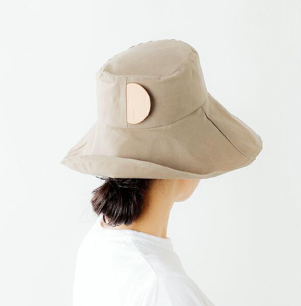 """mature ha.(マチュアーハ)<br>パラフィンワイドランダムステッチローハット""""paraffin hat wide random stitch low"""" cpf-023"""