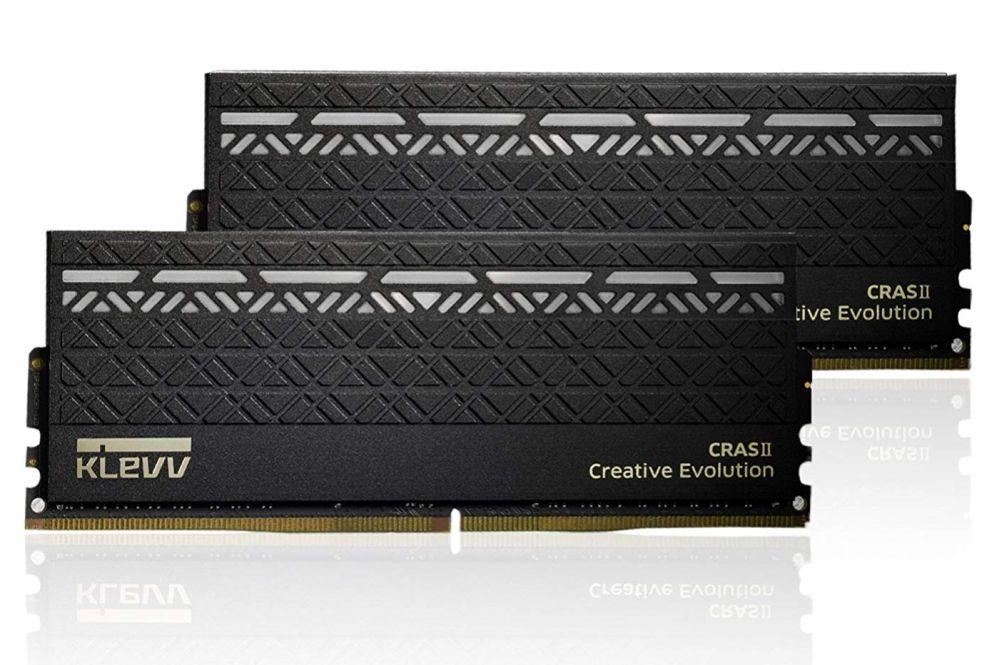 KLEVV KM4Z8GX2A-3000-15-16-16-36-1 [DDR4 PC4-24000 8GB 2枚組] 製品画像