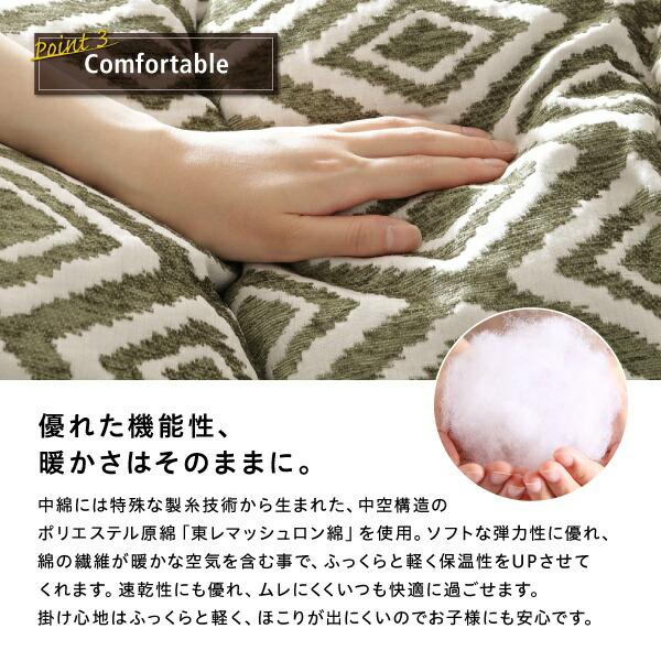 東レマッシュロン綿使用
