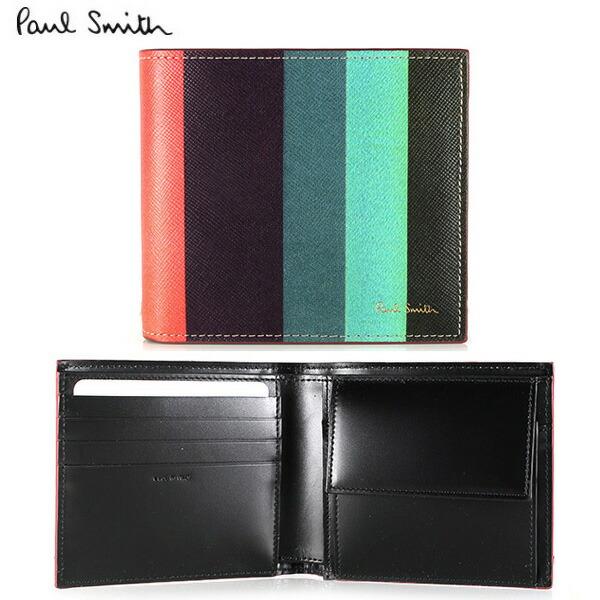 quality design b7806 1d67c PaulSmith 財布·ケース】ポールスミス イルビゾンテ 二つ折り ...