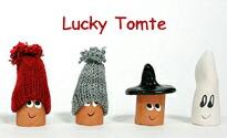北欧雑貨 ラッキートムテ Lucky Tomte