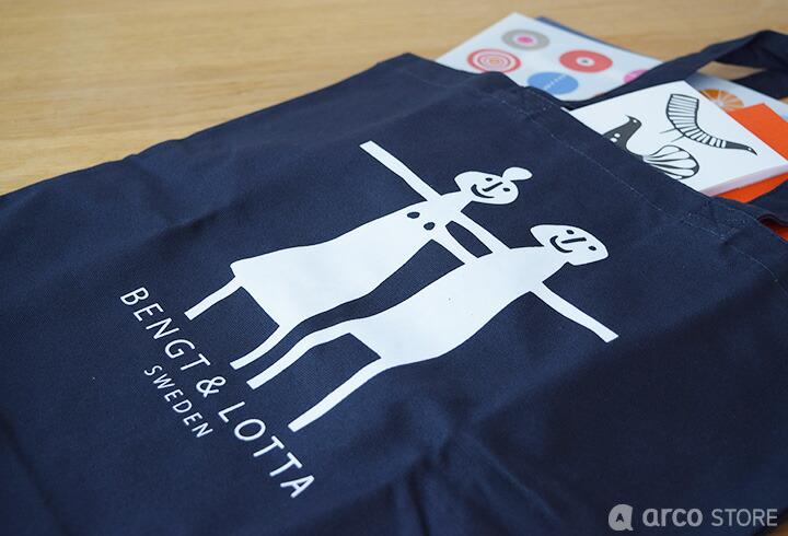 北欧デザイン 北欧雑貨 トートバッグ カバン バッグ Bengt&lotta ベングトアンドロッタ